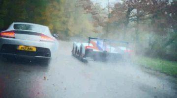 Aston Martin V12 Vantage vs Aston Martin LMP1