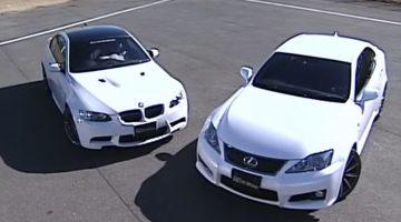 BMW M3 vs Lexus IS-F