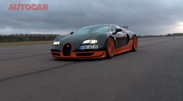 Bugatti Veyron Super Sport Dragrace