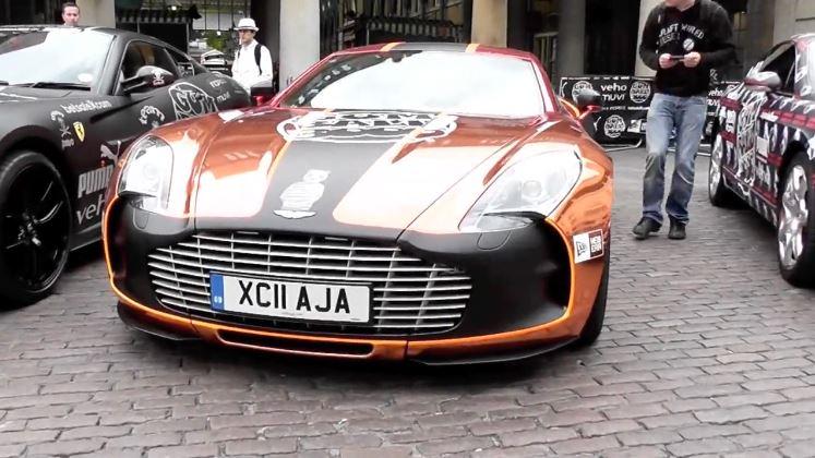 Gumball 3000 2011 – Start in Londen