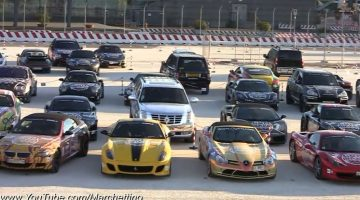 Gumball 3000 2011 – Supercars Line-up