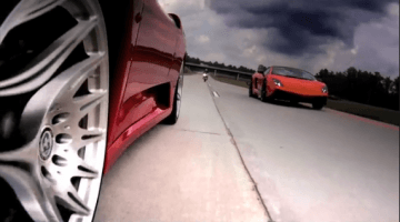 Underground Racing F430 TT vs LP570 Superleggera
