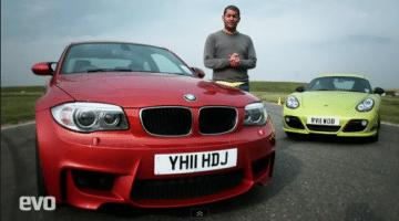 Chris Harris Test BMW 1M Coupe vs Porsche Cayman R
