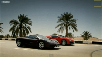 Top Gear - Bugatti Veyron vs McLaren F1