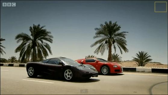 Top Gear - Bugatti Veyron vs McLaren F1