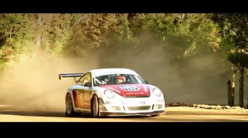 Porsche GT3 Cup at Pikes Peak Hillclimb