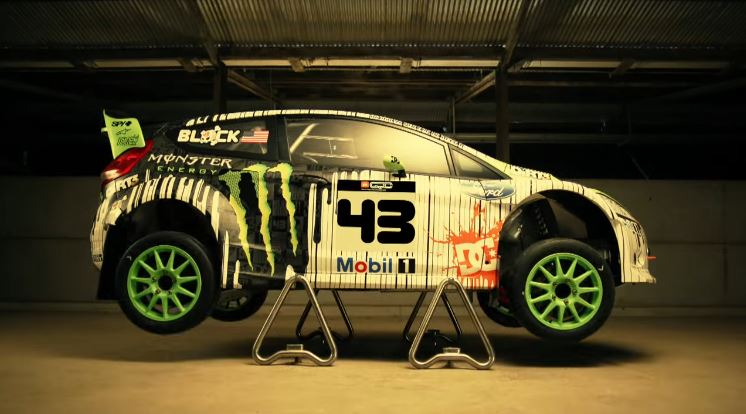 Ken Block's nieuwe raceauto