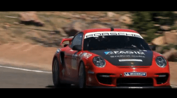 Porsche 911 GT2 RS record run Pikes Peak 2011