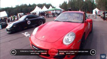 Porsche 911 Switzer R750 vs Porsche 911 Switzer R800