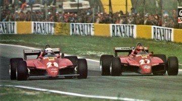 F1 Battle - Villeneuve vs Pironi San Marino 1982