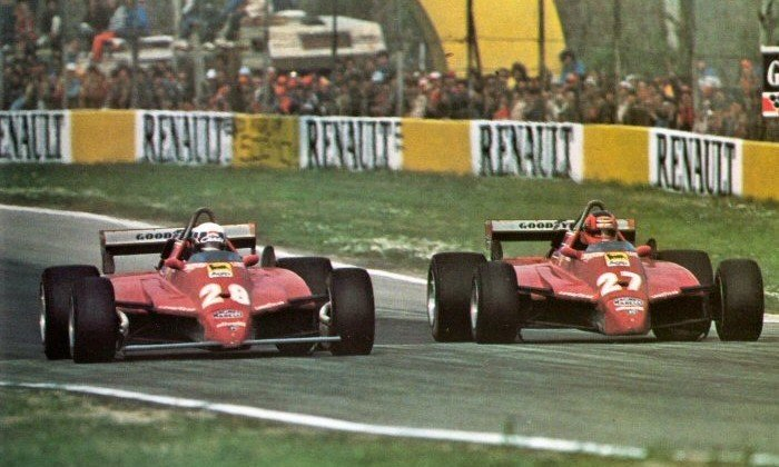 F1 Battle - Villeneuve vs Pironi San Marino 1982