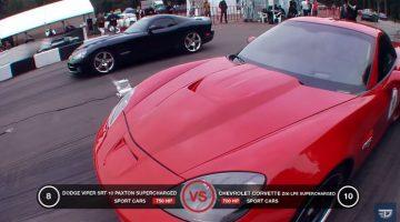 Viper SRT10 vs Corvette Z06