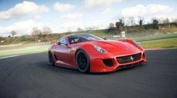Ferrari 599XX in Actie