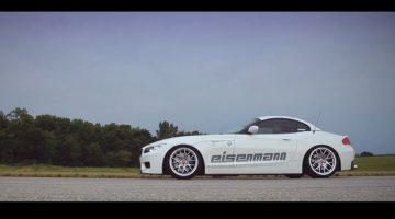 BMW Z4 met uitlaat van Eisenmann