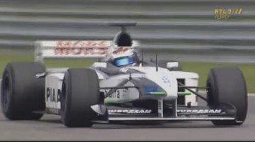 Jos Verstappen Tyrrell F1 Demo