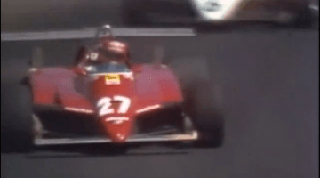 F1 Battle - Keke Rosberg vs Gilles Villeneuve Long Beach 1982