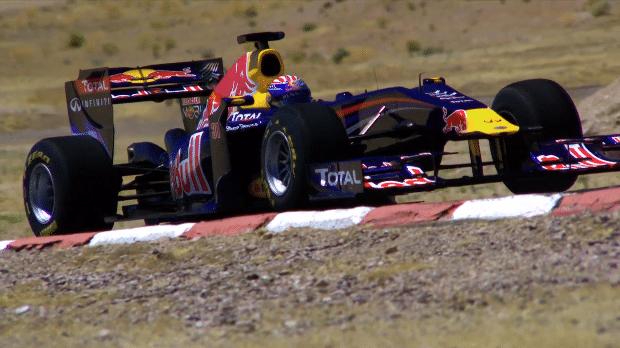 Tom Cruise test de Red Bull Racing F1