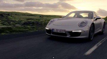 Officiële promo Porsche 911 (991)