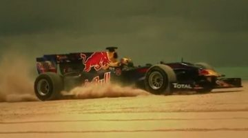 Red Bull F1 on the Beach