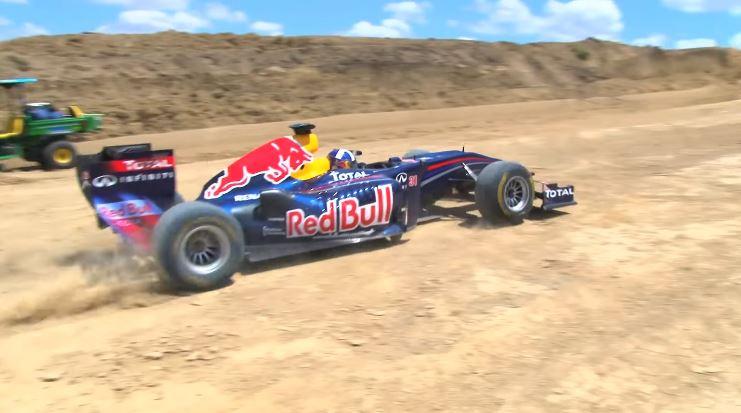 Red Bull Racing F1 Demo Dirt Track