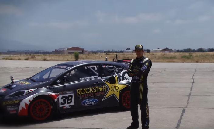 Tanner Foust showt zijn 600PK Ford Fiesta