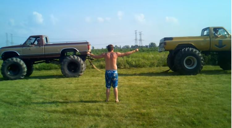 Tug of War Ford vs Chevy Fail