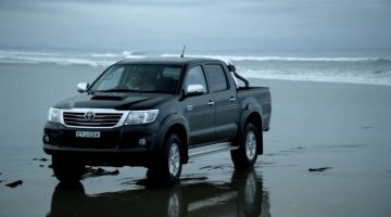 2012 Toyota Hilux nog steeds Unbreakable