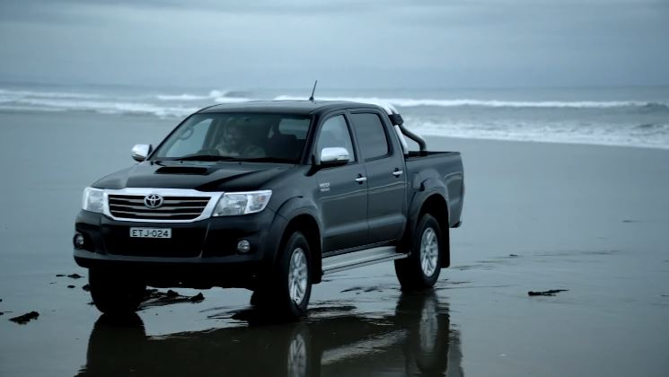 2012 Toyota Hilux nog steeds Unbreakable