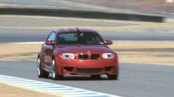 BMW 1M Coupe Hot Lap Laguna Seca