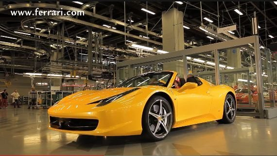 Fernando Alonso test de Ferrari 458 Spider