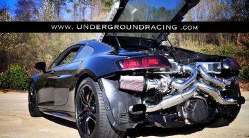 Underground Racing Twin Turbo Audi R8 V10