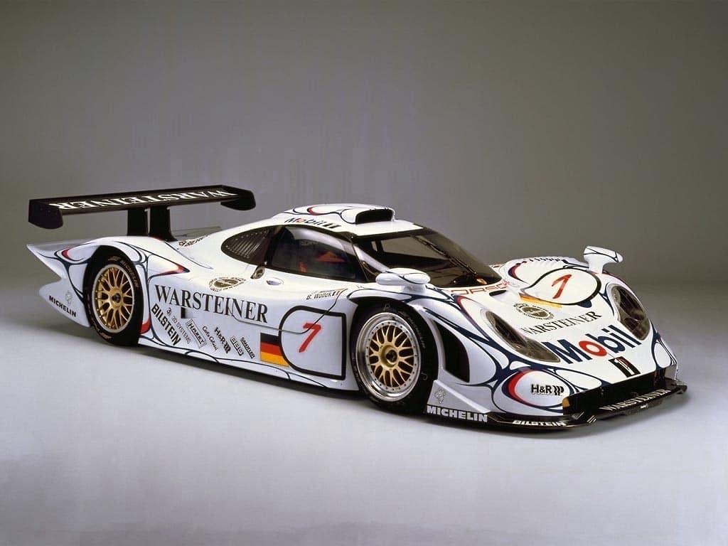 Legendary Race Cars - Porsche 911 GT1