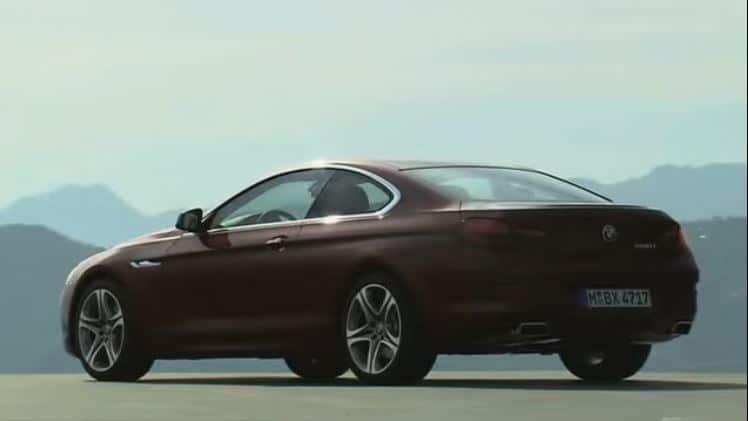 2012 BMW 6 Series Coupé