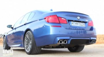 BMW M5 Review by EVO TV