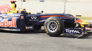 Red Bull F1 on Buddh International Circuit