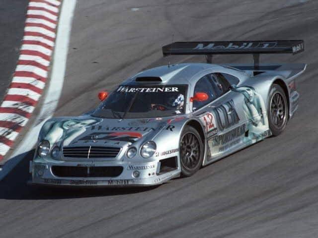 Legendary Race Cars - Mercedes Benz CLK GTR