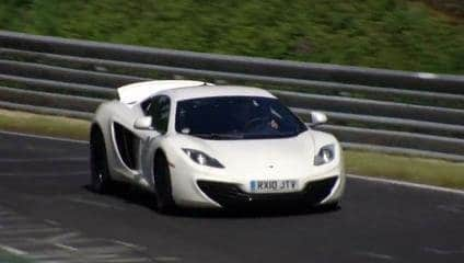 McLaren MP4-12C: The Nordschleife
