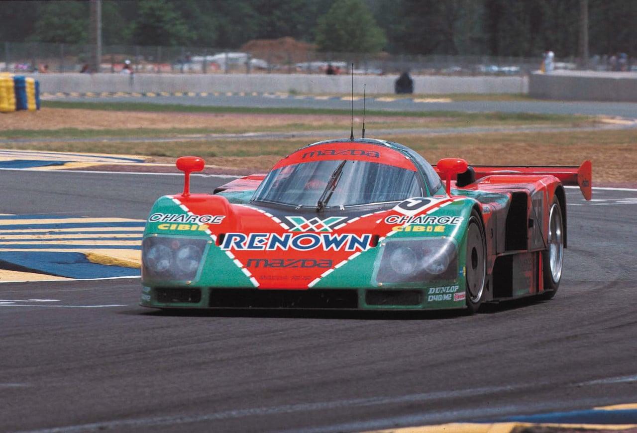 Legendary Race Cars - Mazda 787B