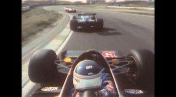 Alain Prost op Zandvoort in Renault RE40