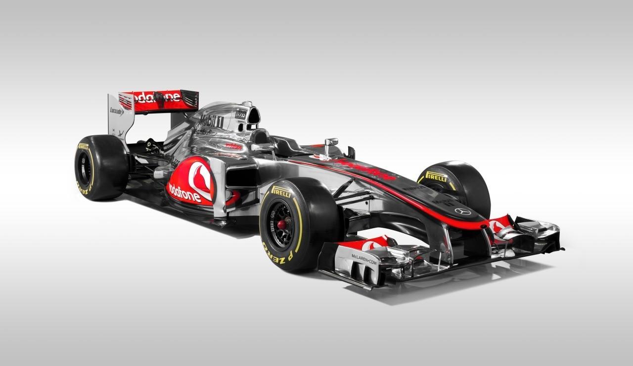 Vodafone McLaren Mercedes MP4-27 Launch