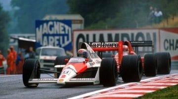 F1 Battle – Nigel Mansell vs Alain Prost Spa 1989