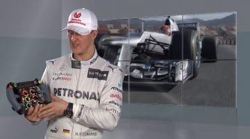 Formule 1-stuur anno 2012