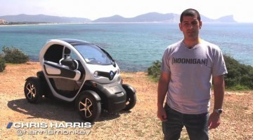 DRIVE - Chris Harris Test Renault Twizy