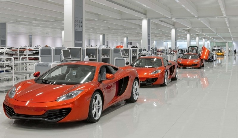 How To Build a Supercar: McLaren Mp4-12C