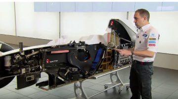 Sauber F1 doormidden