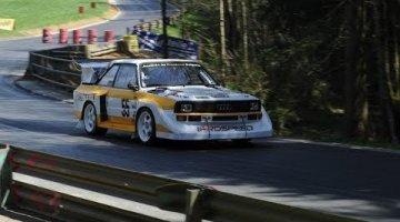 Hillclimb - Audi Quattro S1 van Prospeed