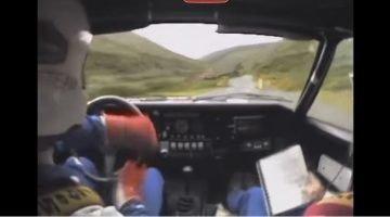 Ari Vatanen op Isle of Man