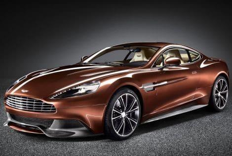 De nieuwe Aston Martin Vanquish