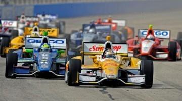 Indycar 2012 - Milwaukee Highlights