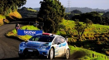 WRC 2012 - New Zealand Highlights